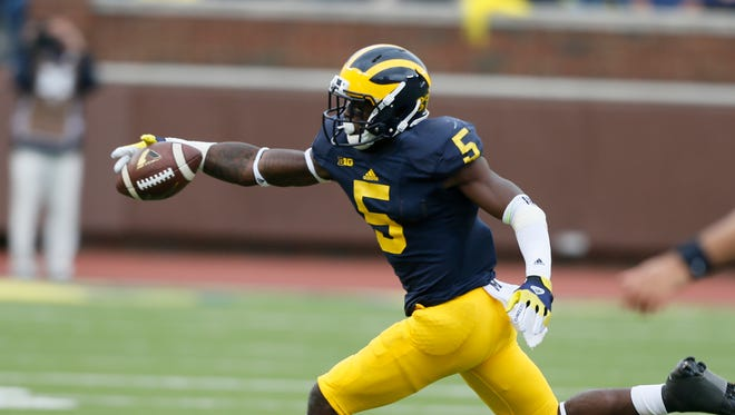 Michigan's Jabrill Peppers was a high school teammate of Rashan Gray, the nation's No. 1 recruit.