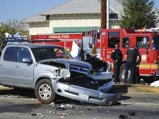 A US Marshal and another motorist suffered injuries