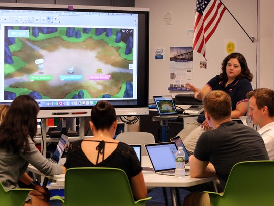 Tracy Campanile, technology mentor for teachers and