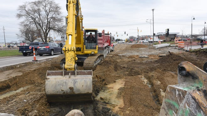 The biggest projects are on I-75 and I-275, but road work season will also affect intersections such as Van Dyke at Metro Parkway.