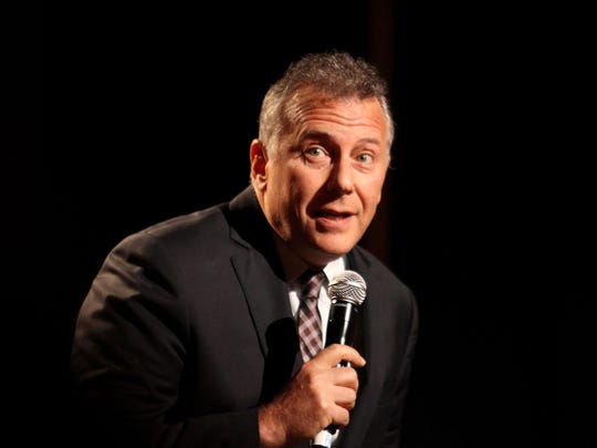 """Mad About You"" star Paul Reiser will perform his stand-up act Oct. 5 at Peekskill's Paramount Hudson Valley."
