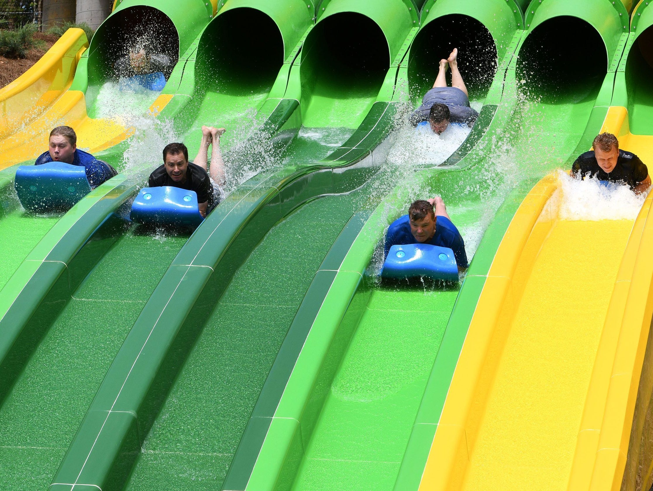 Dollywood's Splash Country is the perfect mountain oasis for families to cool-down and chill-out.