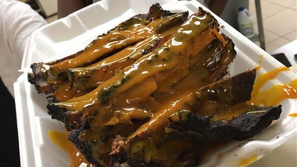 Taste of Love BBQ customers say Vashawn Williams' barbecue sauce is worth a million dollars.