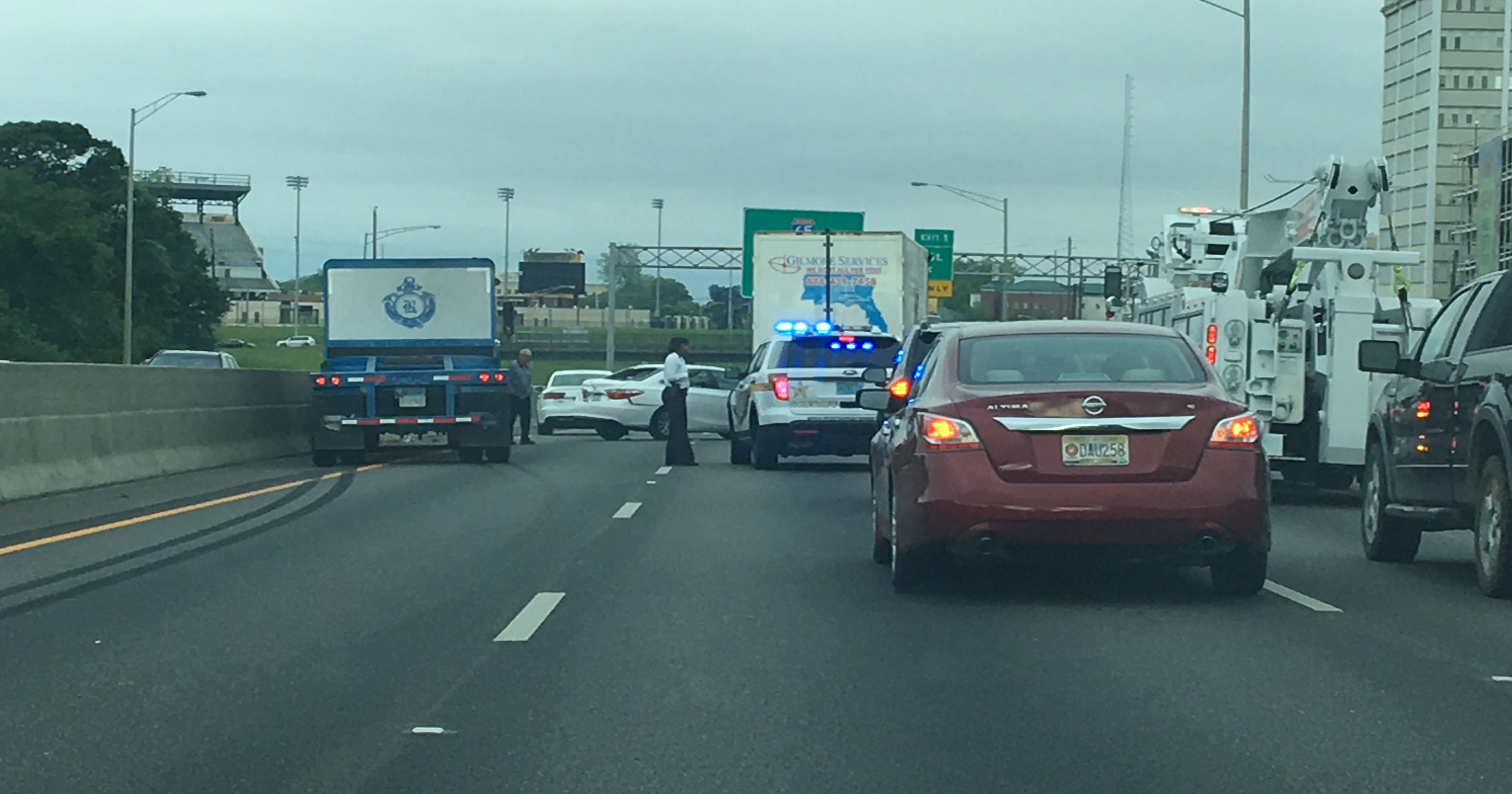 Traffic alert: accident on I-85 at Ann Street cleared