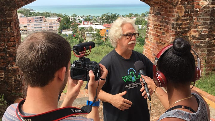 William Paterson students visit Vieques, forge radio partnership