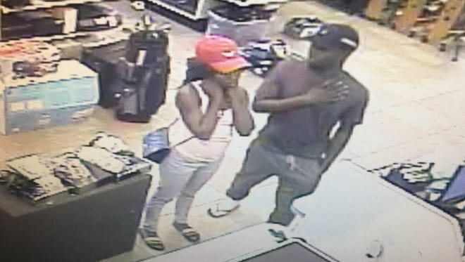 The Lee County Sheriff's Office is looking to identify a possible suspect in a number of vehicle break-ins in Lehigh Acres. Items taken in the crimes, such as credit cards, were later used at Lehigh Acres businesses with the suspects caught on surveillance cameras.