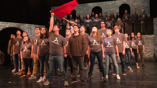 """Mamaroneck High School presents """"Les Miserables,"""" with performances at 6 p.m., March 1; 7 p.m., March 2, 3; $15; 914-220-3140 or mamaroneckmusic@gmail.com"""