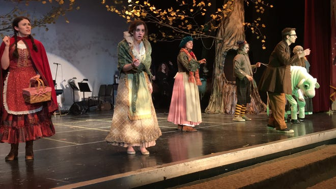 """Valhalla High School presents """"Into the Woods""""; 7 p.m., March 23; 1 and 7 p.m., March 24; $12; $10 students, seniors; etix.com or door."""
