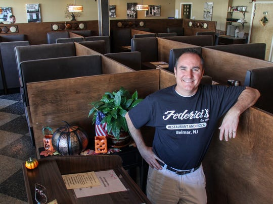 Michael Federici, owner of Federici's on 10th in Belmar, is a third-generation owner of the family business.