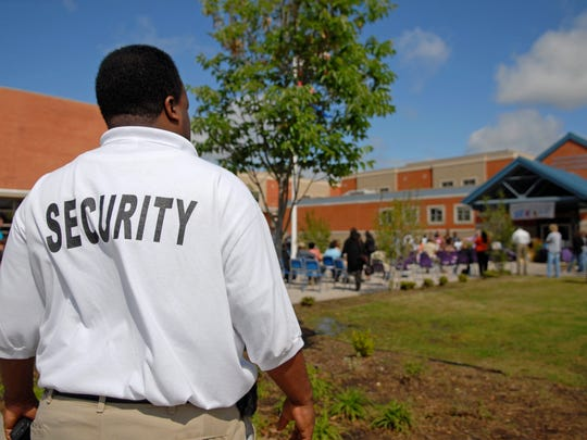 Why not hire returning military as security guards