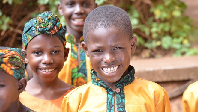 The African Children's Choir performs in Vicksburg and in Jackson on Sunday.
