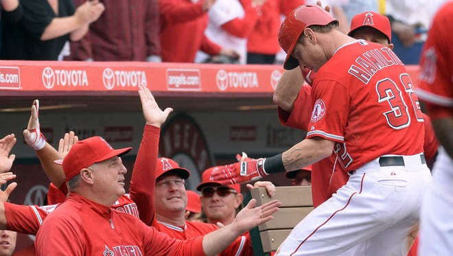 "Mike Scioscia echoed the sentiments of his organization when he said he was disappointed in Josh Hamilton's ""accountability."""