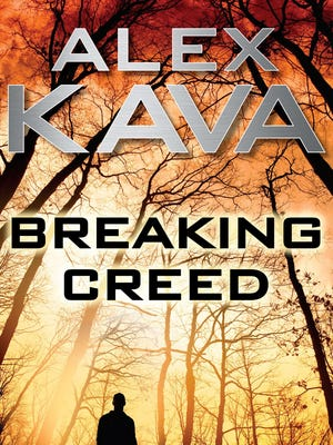 """Cover of """"Breaking Creed,"""" by Alex Kava."""