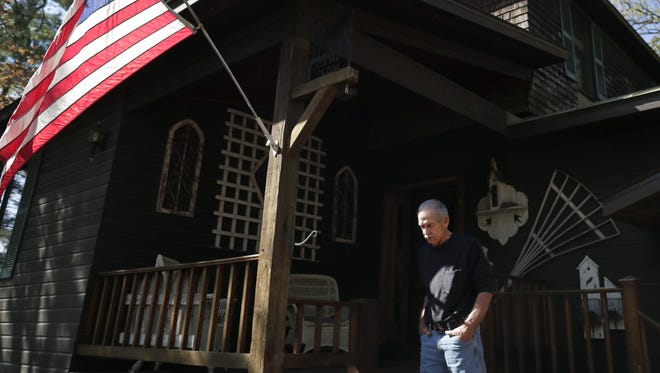 Fred Flom, a Menasha native and former U.S. Air Force pilot, spent more than six years as a prisoner of war in Vietnam after he was shot down Aug. 8, 1966. He lives in Dallas but also owns a cabin near Waupaca.