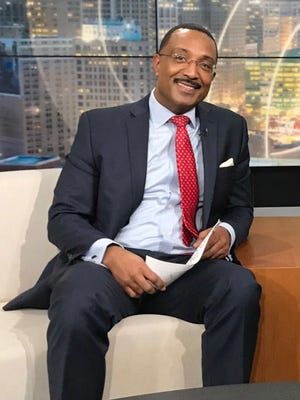 Malcom Maddox, a TV anchorman at WXYZ in December 2017