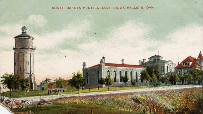 The State Penitentiary was Wallace Dow's first local project, completed in 1884.
