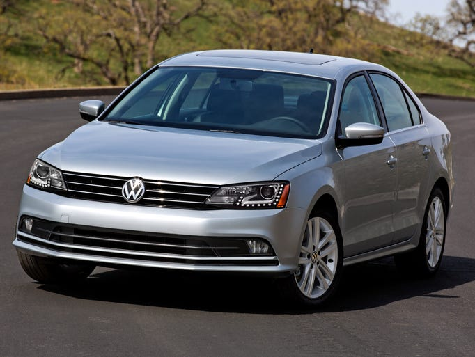 The refreshed 2015 Volkswagen Jetta, due at dealers in late September.