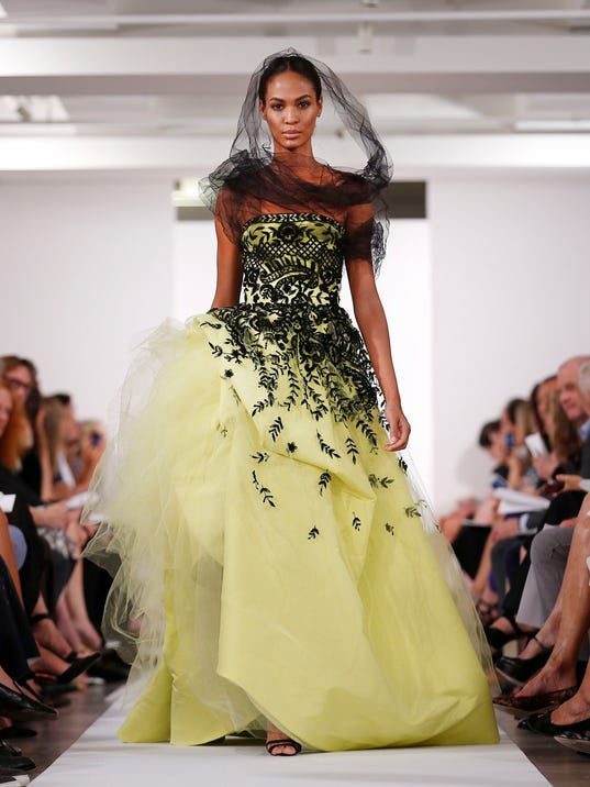 AP Fashion Oscar de la Renta Spring 2014