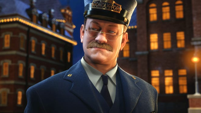 """Tom Hanks voices six characters in director Robert Zemeckis's """"The Polar Express."""""""
