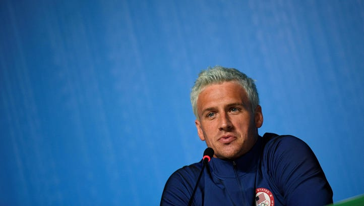 Ryan Lochte on Aug. 3, before the Olympic Games began.