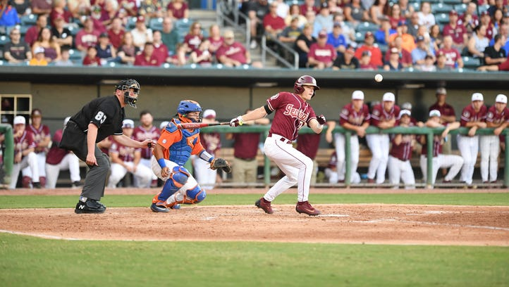 Florida State bats go cold against Florida
