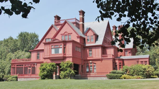 Thomas Edison's home in West Orange, New Jersey.