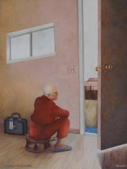 """""""La espero prometio ser puntual"""" by Marianela de la Hoz"""