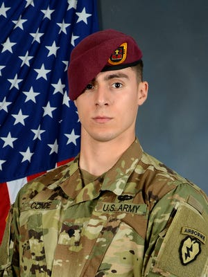 Spc. Gabriel Conde, U.S. Army, was killed in Afghanistan April 30, 2018.
