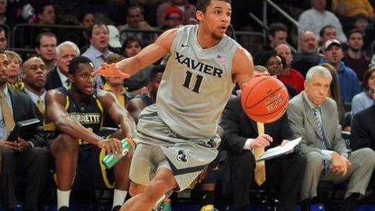 Dee Davis is a senior guard at Xavier University.