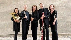 Wingra Woodwind Quintet will perform at the Waelderhaus on April 2.