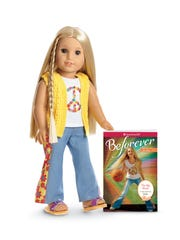 American Girl doll Julie Albright