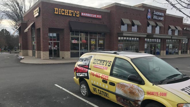 Dickey's Barbecue Pit, on Stewart Ave., closed without notice.