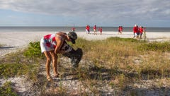 Community makes a difference at beach
