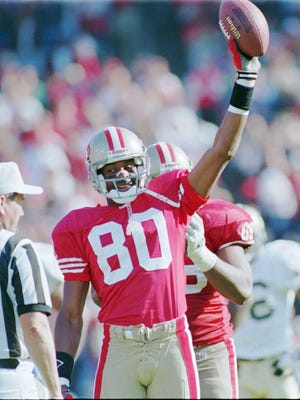 Jerry Rice was one of the best football players of all-time during his 20-year playing career.