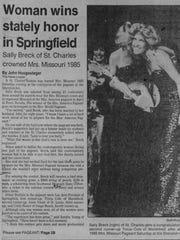 This clipping is from the Springfield Leader and Press,