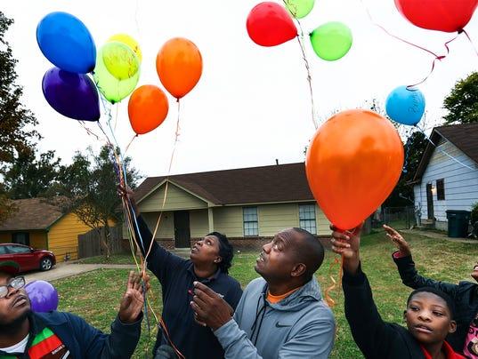 Balloon Release 1