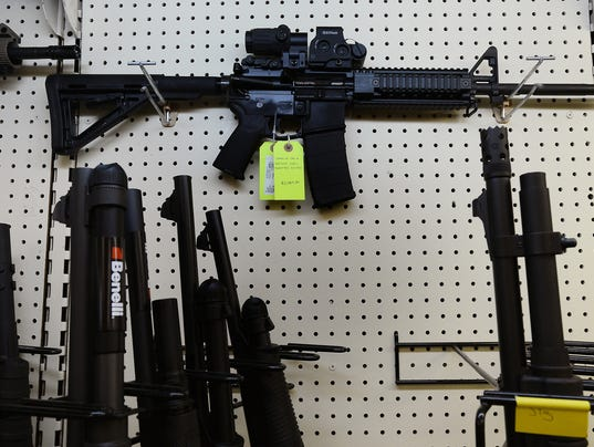 Latest mass shootings all have something in common: the AR-1