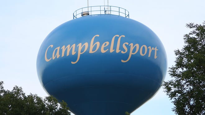 Campbellsport water tower
