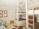 The bunk-bed room at 235 Jasmine Point in Salem. Listed