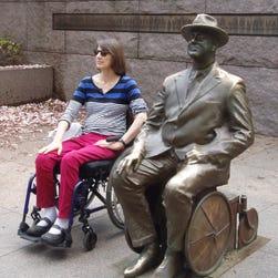 Touring Washington, D.C., in a wheelchair