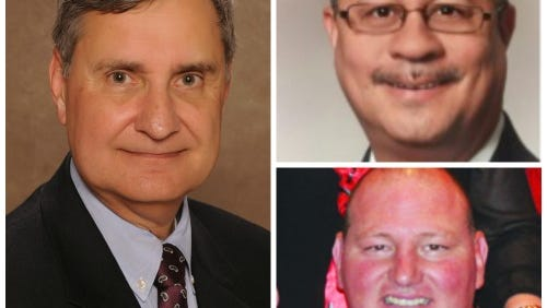 Donald Aguillard, Carlos Sam and Francis Touchet are the finalists to be the next Lafayette Parish superintendent.