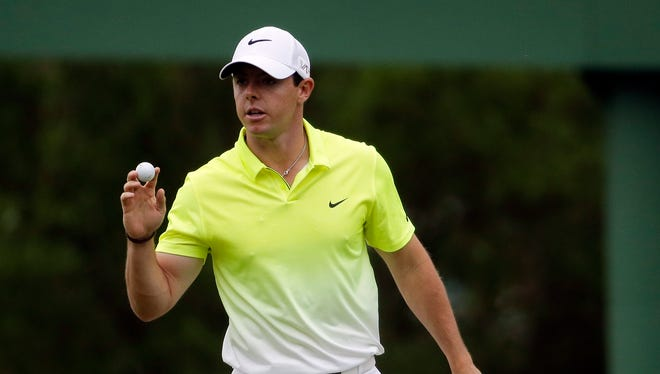 Rory McIlroy is the No. 1 player in the world, but his round-robin match play opponents were determined by blind draw.