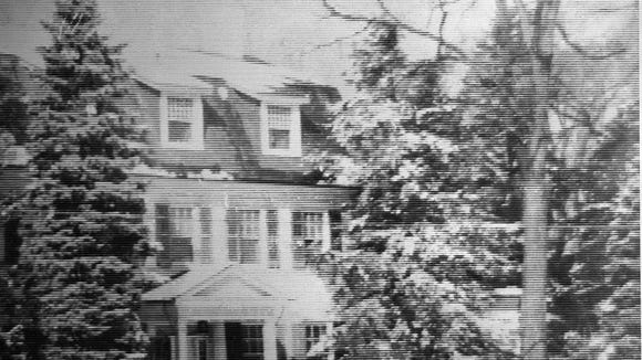 A picture of the original house dated 1908. Submitted - Daily Record/Sunday News