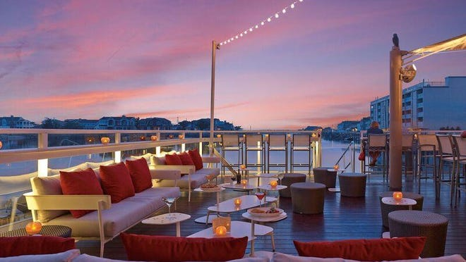 Water Star Grille features al fresco dining on the bay with sunsets that rival Key West.
