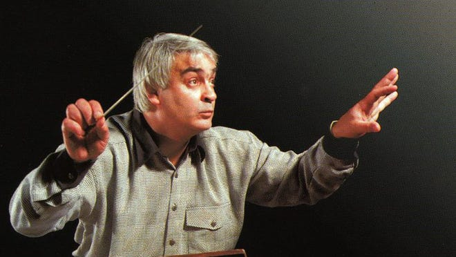 Valery Polyansky is the conductor for the Russian State Symphony Orchestra.