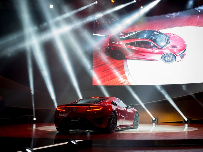 Acura introduces the production version of the NSX