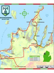 A look at the trails for this year's Michigander.