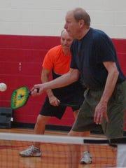Rich Carlson and Tom Duban, both Farmington Hills residents,