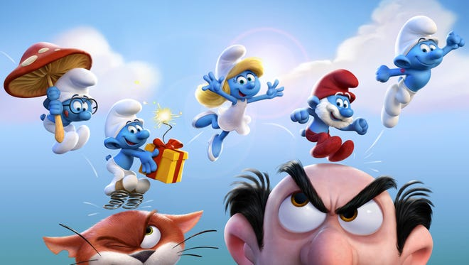 """The fully animated """"Get Smurfy"""" movie will once again pit the lovable Smurfs against their nemesis, the evil Gargamel, as well as his cat Azrael."""