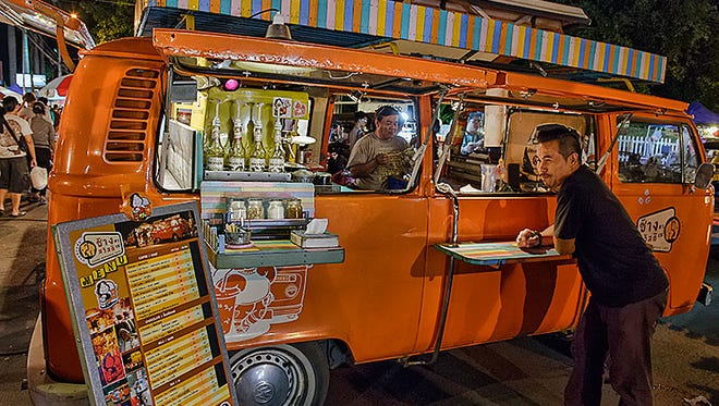 Mobile cocktail bars are one of Bangkok's coolest new trends.